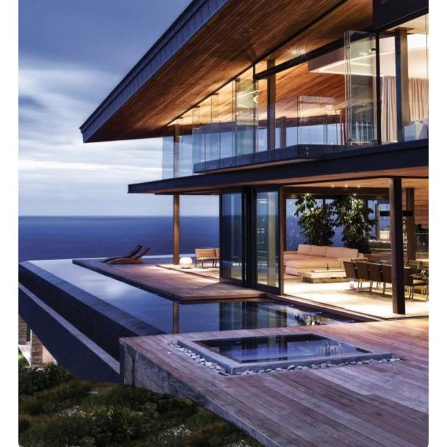 Ultimate house inspiration newbuild modern architecture northernbeaches polishedconcrete timber steel
