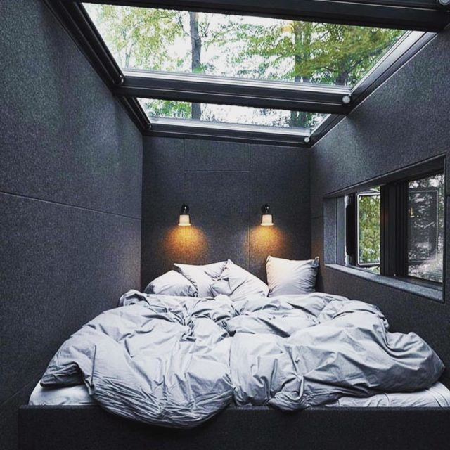 hit snooze tuesday black sleepy bed concrete cocoon love instagoodhellip