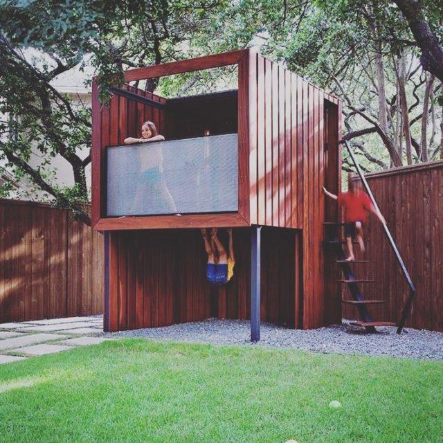 Fort inspiration slowchildhood simplicity fort treehouse playoutdoors kids family newbuildhellip