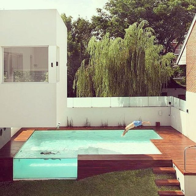 Another angle of this amazing swimming pool swimmingpool housegoals newbuildhellip
